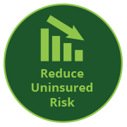 Reduce Uninsured Risk