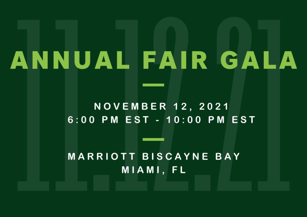 November 12, 2021 FAIR Gala